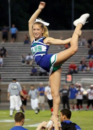 real cheerleaders upskirts