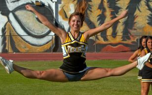 cheerleader blow job